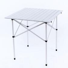 FUNDANGO Aluminum Lightweight Folding Table 3.1kg Portable Silver Camping Picnic