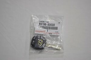 GENUINE LEXUS GS300/400 LS400 LX470 TRANSMITTER BLANK KEY 8978650030 OEM