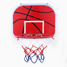 Hanging Mini Basketball Hoop Kit For Indoor Outdoor Kids Game Toy W/ Air Pump DY