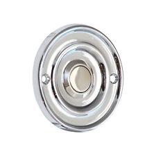 Door Bell Push Press- CHROME CHIME + 60mm Diameter | IP65 WATER RESISTANT RATING