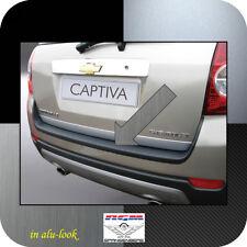 Exklusiv RGM Ladekantenschutz Alu-Look für Chevrolet Captiva SUV 4X4 Bj. 2006-13