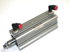 "New Smc Compact Air Pneumatic 4"" Cylinder Ncdq2A32-100Dm-F79"