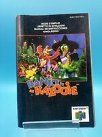 jeu video notice BE nintendo 64 NEU4 banjo kazooie
