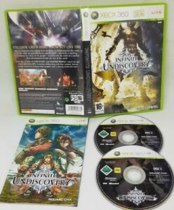 Infinite Undiscovery XBOX 360 Video Game Original UK Release EXCELLENT Condition