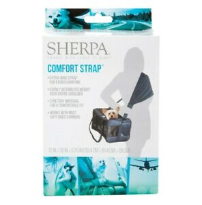 Sherpa Travel Pet Carrier Accessory EX Wide Carrying Comfort Strap Works w/ Most