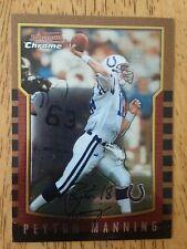 2000 Bowman Chrome Peyton Manning #112 Colts Broncos HOF
