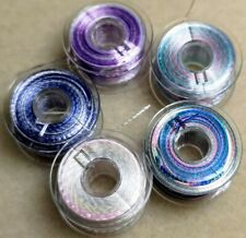 5  Assorted Spools of Quality Spirelli - Embroidery Threads - 5 Colours - Lot 1