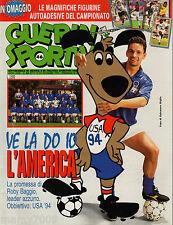 GUERIN SPORTIVO=N°46 1993=CENTO GOL SERIE A ROBERTO BAGGIO=24 FIGURINE ADESIVE