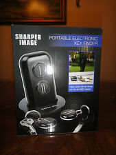 SHARPER IMAGE PORTABLE ELECTRONIC KEY FINDER BRAND NEW IN BOX