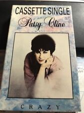 Patsy Cline Crazy UK Cassette Single  MCA MCAC 1465 1990 Sweet Dreams Country