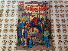 Amazing Spider-Man and the New Mutants Giveaway (1990) Marvel - #1, K-Mart, VF/-