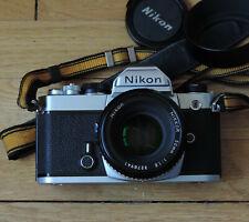 Nikon FM chrome + 50-1.8 Nikkor