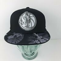 Adidas NBA Dallas Mavericks Hawaiian Floral Fitted Hat Size Large/XLarge New