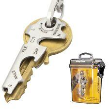 True Utility 8 in 1 Key Tool Hard Case - Mini Multi Keyring Bottle Opener Etc.