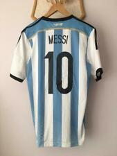 ARGENTINA 2014 2015 HOME FOOTBALL SOCCER SHIRT JERSEY MAGLIA ADIDAS MESSI #10