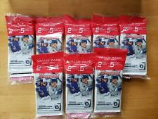 (x8) 2020 Bowman Baseball Sealed Value Pack 2 packs + 5 Exclusive Camo Parallel