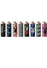 8 Bic Playboy Bunny Design Lighters Regular Disposable