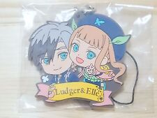 Tales of Series 20th Anniversary Rubber Strap Ludger & Elle Japan Game/1100