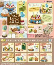 Re-Ment Miniature Sumikko Gurashi Cake Shop Bakery Full Set 8 pieces Rement RARE