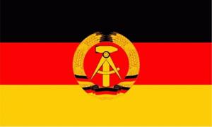 DDR FLAGGE FAHNE Hissfahne 90 x 150 cm NEU