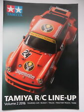 New Tamiya R/C Line Up Touring Car, Buggy, Truck, Tractor Truck, Tank Vol 2 2016