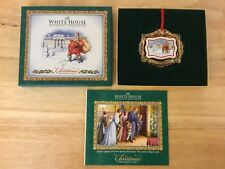 White House Historical Association Christmas Ornament 2011 Nib w/pamphlet