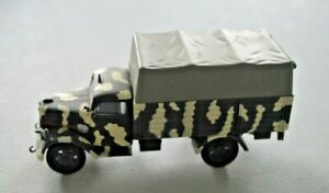 Speed Victoria Military Army 1/43 - Opel Blitz Troop Carrier Wehrmacht Russia