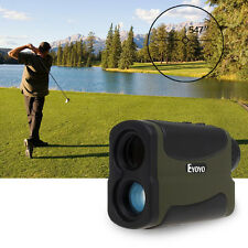 6x Multifunction 700 Yards Laser Range Finder Telescope Hunting Golf Distance