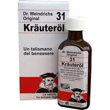 OLIO 31 KRAUTEROL L' ORIGINALE Dr. Weindrichs - 100 ml.