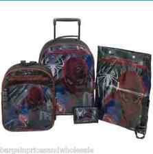The Amazing Spider-Man Set DI BAGAGLI DA 4 pezzi Trolley Borsa Zaino Scarpe Wallet