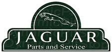 65x30cm Jaguar Shield Tin Sign