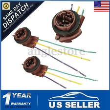 For 3157 Bulb Socket Turn Signal Light Harness Wire Plug Connector (2)