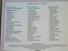 COFFRET 3 CD / CARNAVAL A RIO / READER'S DIGEST / RARE / TRES BON ETAT