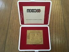 1968 MEXICO OLYMPIC MEDAL WITH CASE