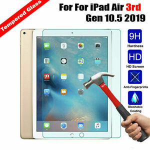 2Pack Screen Protector For Apple iPad Air 3 2019 10.5 3rd Generation