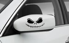 SET OF 2 SIDE MIRROR JACK SKELLINGTON GRAPHIC VINYL DECAL CAR TRUCK STICKER
