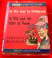 Terence Blacker Ms Wiz Goes To Hollywood/And The Sister Of Doom 2-Tape UNA.Audio