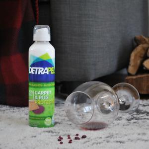 DetraPel Interior Rugs & Carpet Stain Repellent 6.8Oz