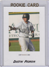 DUSTIN PEDROIA Boston Red Sox 2004 ROOKIE CARD Baseball RC Augusta Greenjackets!
