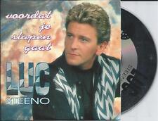 LUC STEENO - Voordat je slapen gaat CD SINGLE 2TR CARDSLEEVE 1994 Belgium