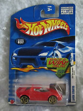 Hot Wheels 2002 First Editions  Lancia Stratos   #037  1:64 scale   (w-12)