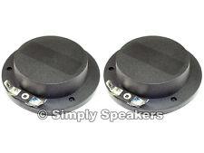 Diaphragm for Eminence PSD2002-16 Horn Driver Speaker Repair Part 16 ohms 2 Pack