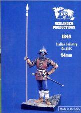 Verlinden Productions 1:32 54mm Italian Infantry Ca.1375 - Resin Figure #1844