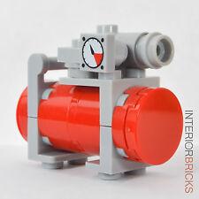 LEGO Furniture: Garage Air Compressor : Custom Set w/ Instructions [minifig,kit]