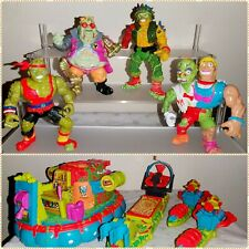 Toxic Crusaders Action Figures and Vehicles Lot Playmates 1990