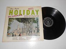 "LP- BEBO VALDES AND HIS HAVANA ALL STARS "" HOLIDAY IN HAVANA ""  ON DECCA REC."