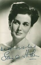 SONIA HOLM - PHOTOGRAPH SIGNED