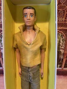 Vintage 1960s Straight Leg Ken Doll  Brown Hair Hawthorne Calif USA Mattel