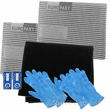 Cooker Hood Filter Kit for AEG BAUMATIC Extractor Fan Vent Grease Carbon Filters