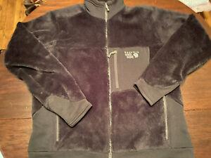 Mountain Hardwear Monkey Man Fleece Jacket Polartec Thermalpro XL